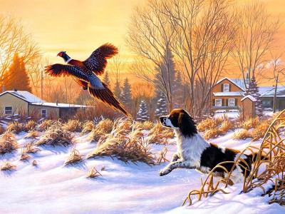 Приготування до зимового полювання