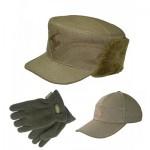 Головні убори та рукавиці для рибаків