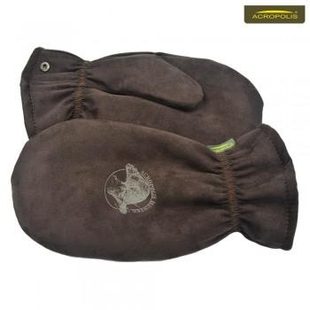 Варежки (рукавицы) зимние с мехом бобра ЧРЗ-3