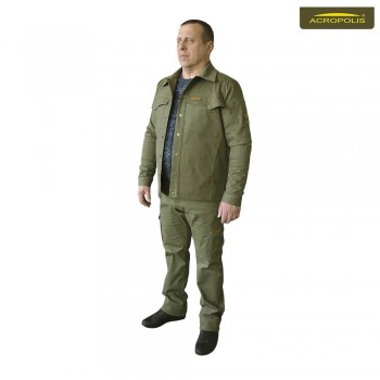 Джинсовый костюм мужской (брюки и куртка) ОКД-1