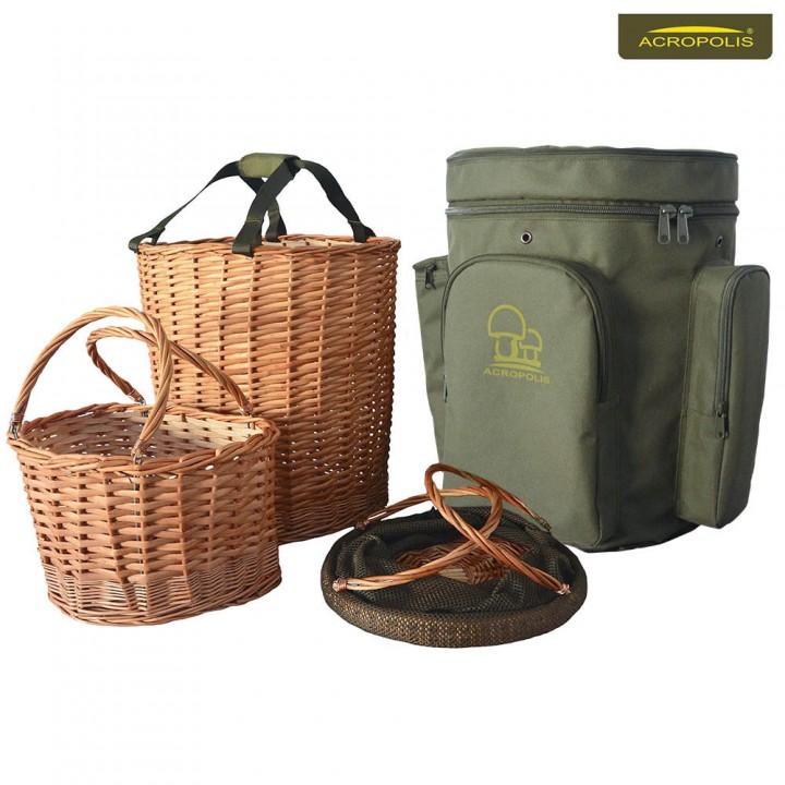 Рюкзак грибника с 3-мя корзинами РНГ-1