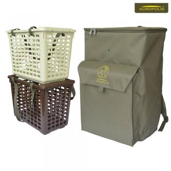 Рюкзак грибника с 2-мя корзинами для грибов РНГ-3