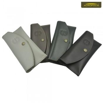 Кожаный чехол на пояс для телефонов  6.0 - 6.5 дюймов ЧТ-1