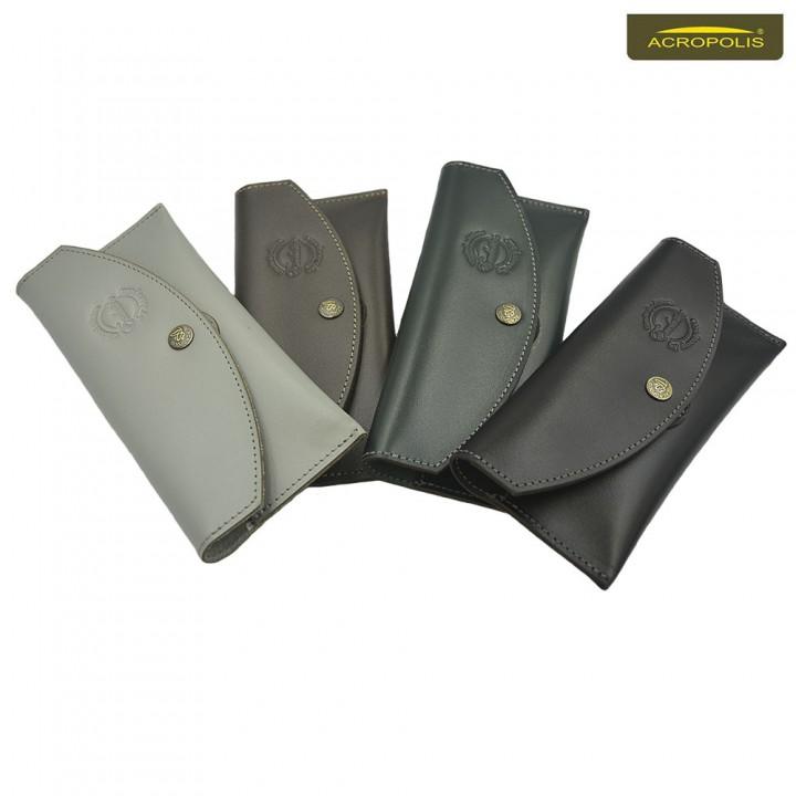 Шкіряний чохол на пояс для телефонів 5.0, 5.5, 5.65 дюймів ЧТ-2