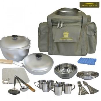 Набор для пикника (посуда на 6 персон и сумка с термо отделом) СДП-1